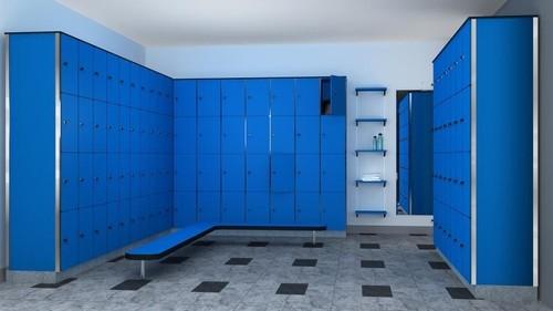 4 Tier Storage Lockers