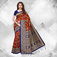 Stylish Party Wear Mysore Silk Saree