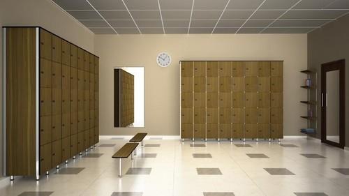 5 Tier Storage Lockers