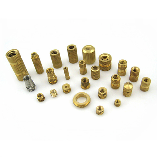 Brass Turned Insert Nut