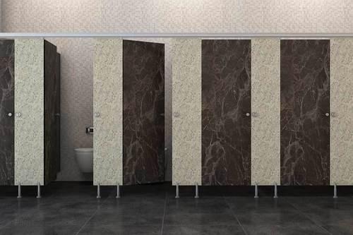 Partition Toilet
