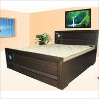 Wooden Designer Double Bed