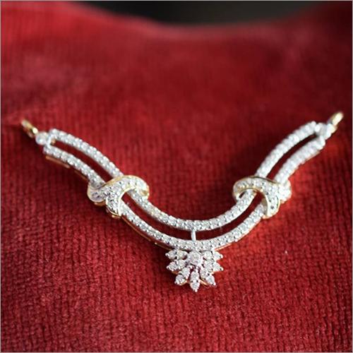 Ladies Diamond Mangalsutra Pendant
