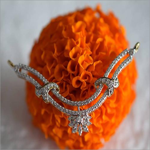 Ladies Diamond Studded Mangalsutra Pendant