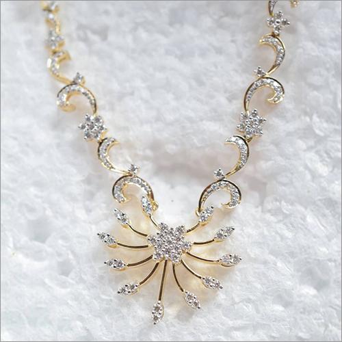 Ladies Diamond Designer Necklace