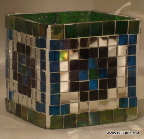 Mosaic More Shape Candle Votive Mode