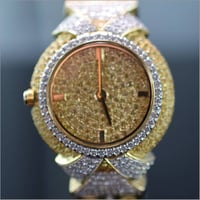 Ladies Fancy Diamond Wrist Watch
