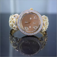 Ladies Studded Diamond Watch