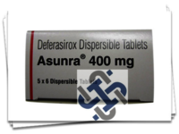 Asunra Deferasirox 400mg Tablet