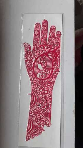 Henna Designs Stencil