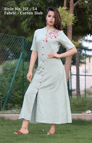 Designer Cotton Kurtis