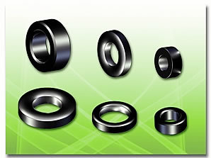 Toroidal Type Ferrite Core Application: Wire Harness Assembly