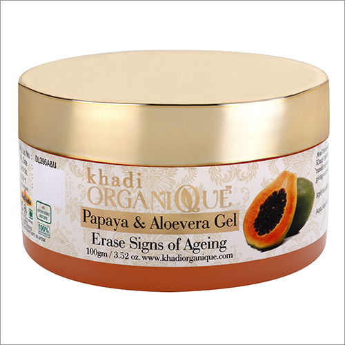 Papaya With Aloevera Face Massage Gel
