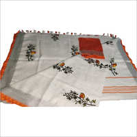 Ladies emboridered saree