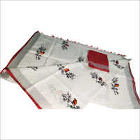 Linen by linen emboridered saree