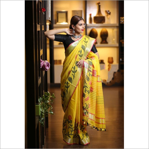 Ladies Bhagalpuri Saree