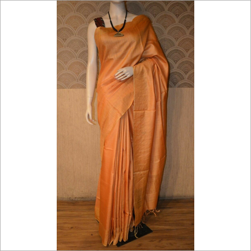 Ladies Munga silk saree