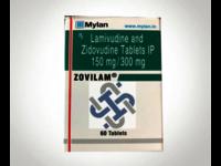 Zovilam Lamivudine 150mg Zidovudine 300mg Tablet