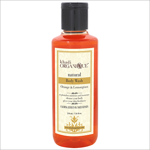 Orange And Lemongrass Body Wash