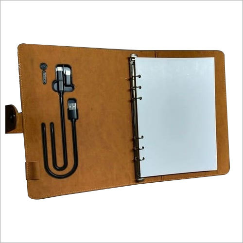 Travel Wallet With Power Bank Diary