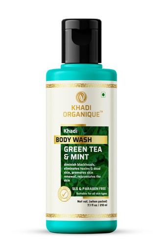 Green Tea And Mint Body Wash