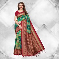 Festive Collections Mysore Silk Printed Saree