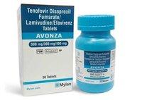 Avonza Lamivudine 300mg Tenofovir 300mg Efavirenz 400mg Tablets