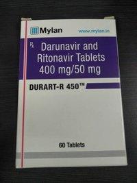 Durart-r Darunavir Ritonavir 400mg 50mg Tablet