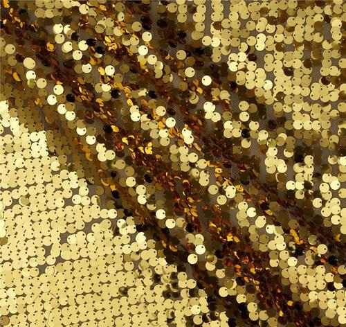 Sequin Net Embroidery Fabric / Sequin Embroidered Fabric