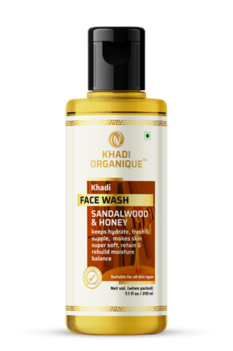 Khadi Sandalwood And Honey Face Wash Certifications: Gmp Certified By Dept. Of Ayush
