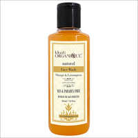 Orange And Lemongrass Face Wash