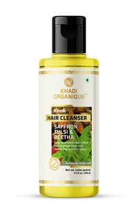 Saffron,Tulsi And Reetha Hair Cleanser