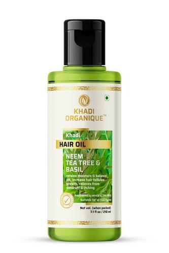 Neem Teatree And Basil Hair Oil
