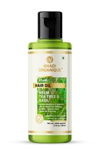 Neem Teatree And Basil Hair Oil
