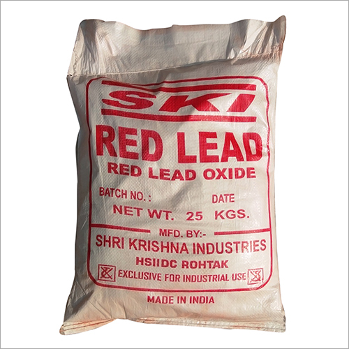 25 KG Red Oxide Bag