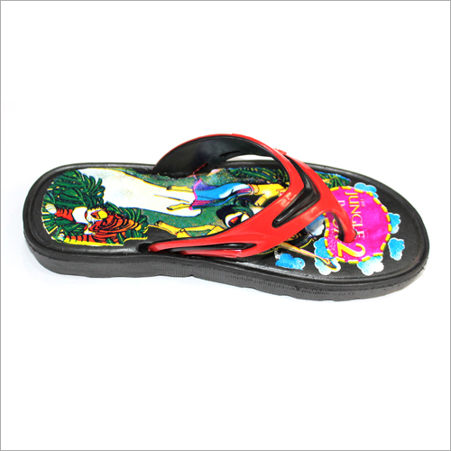 Kids Printed Slipper