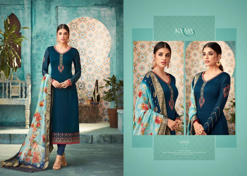 Ethnic Wear Embroidery Suits