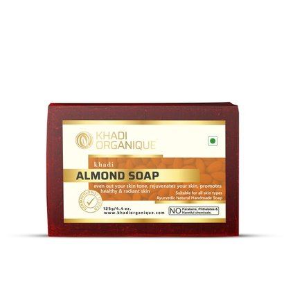 Almond Soap Certifications: Gmp Certified By Dept.Of Ayush