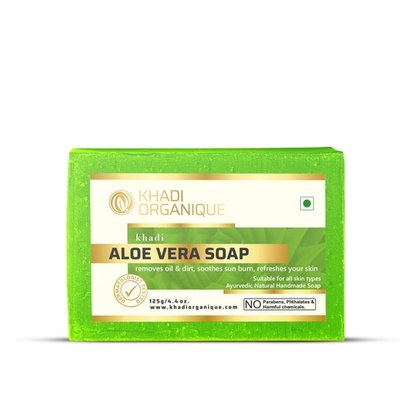 Aloe Vera Soap Certifications: Gmp Certified By Dept. Of Ayush