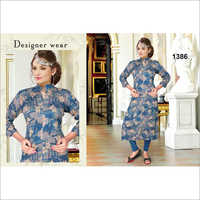 Ladies Digital Print Kurti