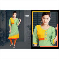 Ladies Straight Casual Wear Kurti