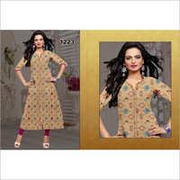 Ladies Trendy Print Kurti