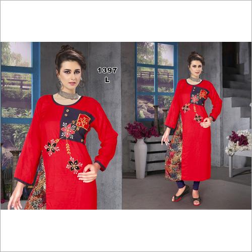 Ladies Embroidered Kurti