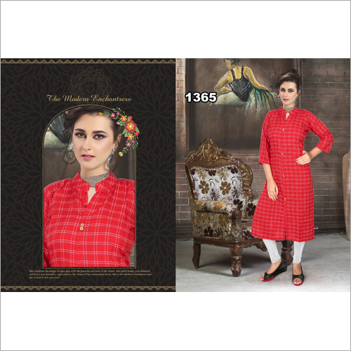 Ladies Collar Neck Kurti