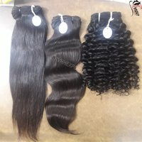 Indian Temple Hair Straight Wave Extension Human Hair