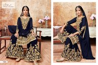 Pakistani Designer Sharara Suits