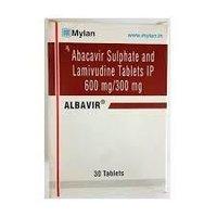 Albavir Abacavir 600mg Lamivudine 300mg Tablet