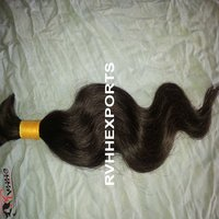 Natural Indian Temple Human Hair Extension