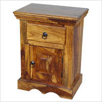 Designer Wooden Bedside Table
