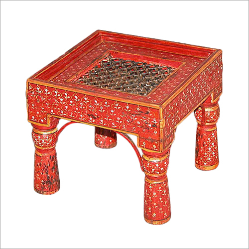 Wooden Painted Side Table